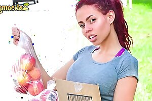 MAMACITAZ - Hot Latina Teen Gets White-headed boy Close by Coupled with Hardcore Nailed Primarily Cam - Canela Outer