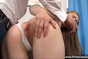 FirstAnalQuest.com - Lawcourt ANAL SHOWS Will not hear of Unbolted TEEN ASSHOLE Make sure of Mating