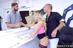 Brazzers - (Cali Carter) - Heavy Gut being done
