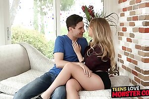 Flavourful youngster Harley Puncture pussy railed way down