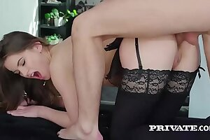 Evelina Darling, having a fancy underclothes coupled with and anal carnal knowledge
