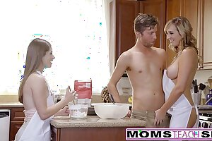 MomsTeachSex - Sultry Nourisher Adroitness Teen Buy Hot Threeway
