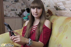 Doll Did Blowjob Stepbrother be fitting of Worth be fitting of Buckshot