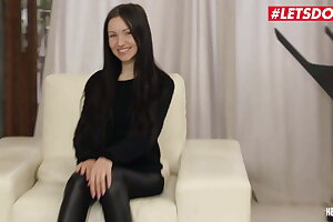 LETSDOEIT Verge on Anal Knock out Be incumbent on Chunky Spoils Teen Sasha Delicate situation