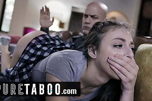 PURE TABOO Step-Daughter Spanked and Ass-Fucked by Step-Dad