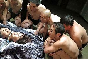 Japanese honey Mirai Aoyama got gangbanged, uncensored